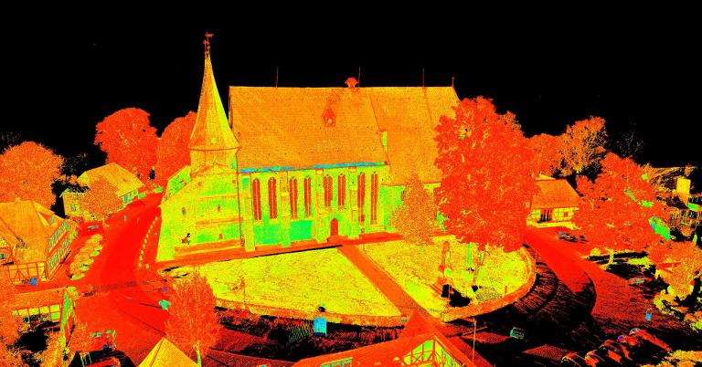 Laserscanning Denkmalpflege