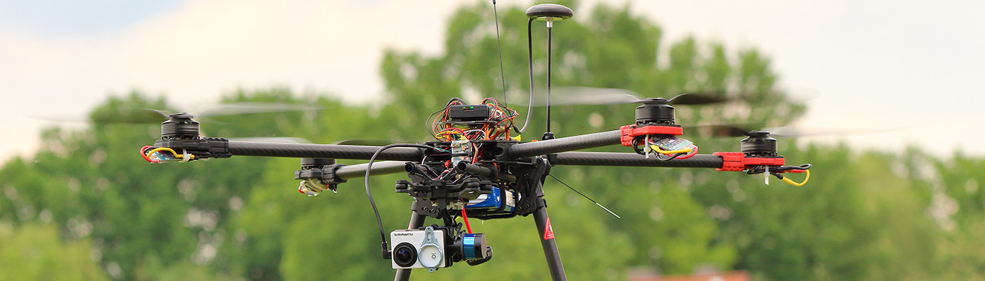 UAV Luftaufnahme