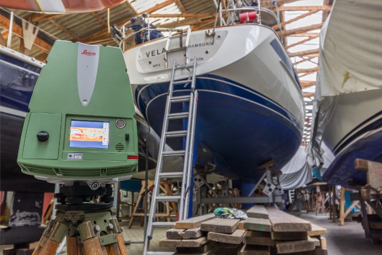 Laserscanning Yacht2