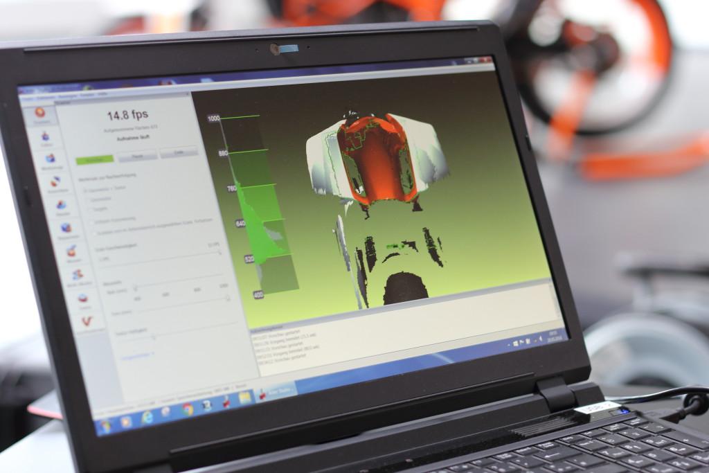 Laptop_ Laserscanning