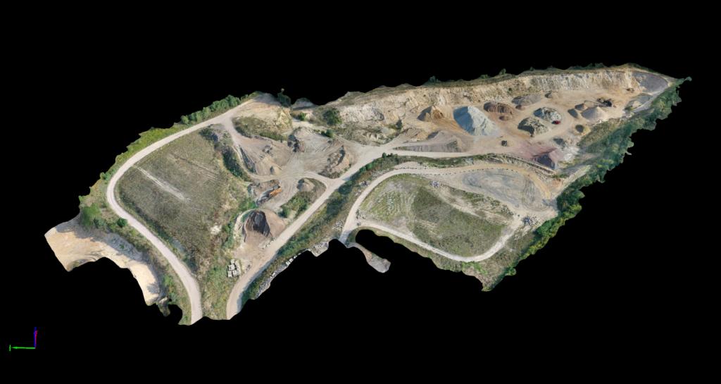 Modell aus UAV